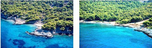 Dragonera beach Agistri