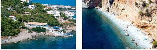 Skliri beach Agistri