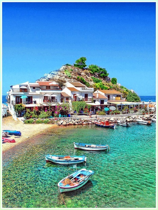 Samos greece googreece for Best places to take a vacation