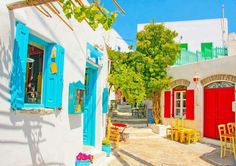 colorful images of Greece4
