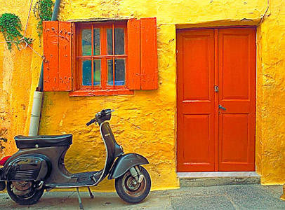colorful images of Greece9