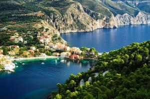 Assos a magical village in Kefalonia island