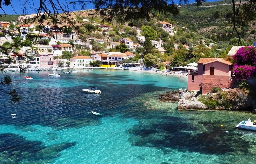 Assos a magical village in Kefalonia island1