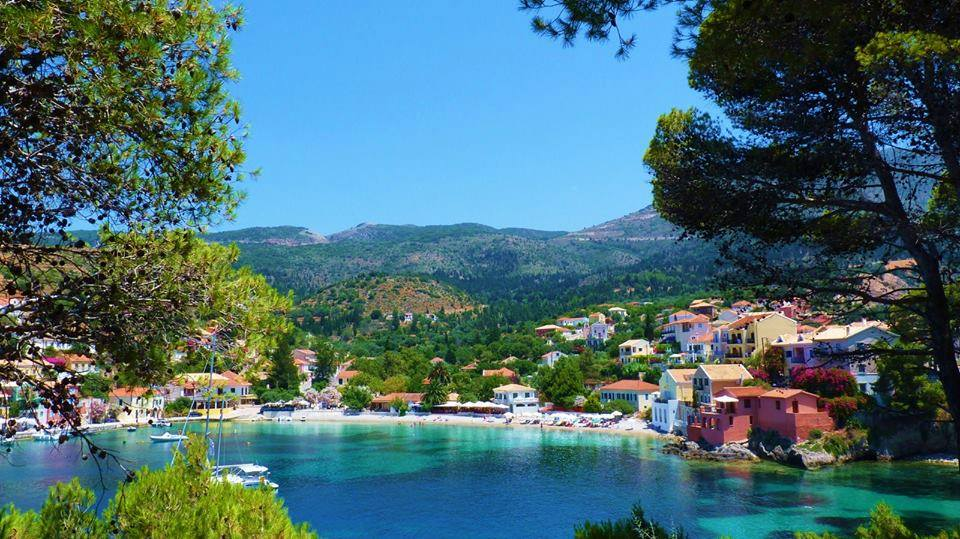 Assos a magical village in Kefalonia island2