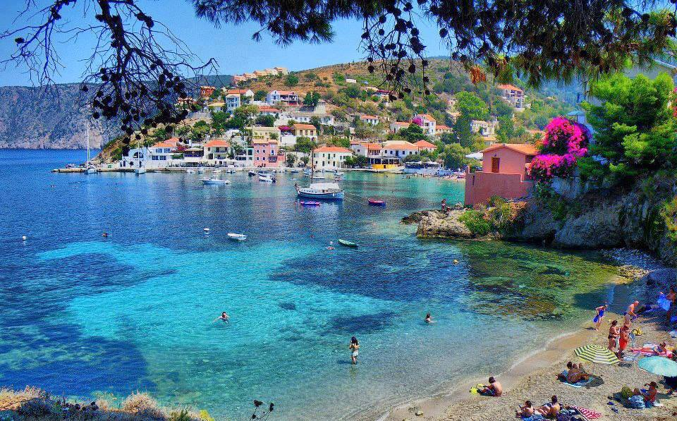 Assos a magical village in Kefalonia island5