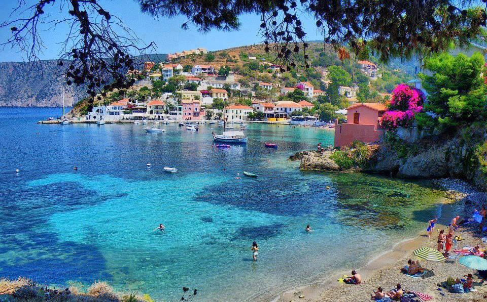 Assos a magical village in Kefalonia island5