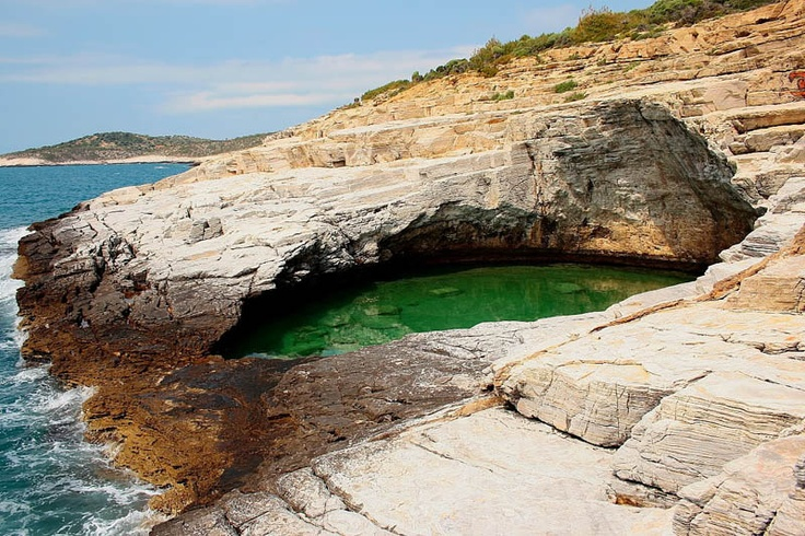Breathtaking Giola Lagoon in Greece