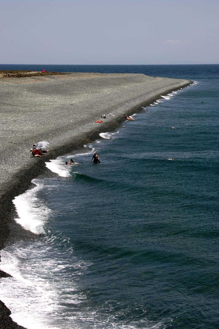 Kipos beach in Samothraki