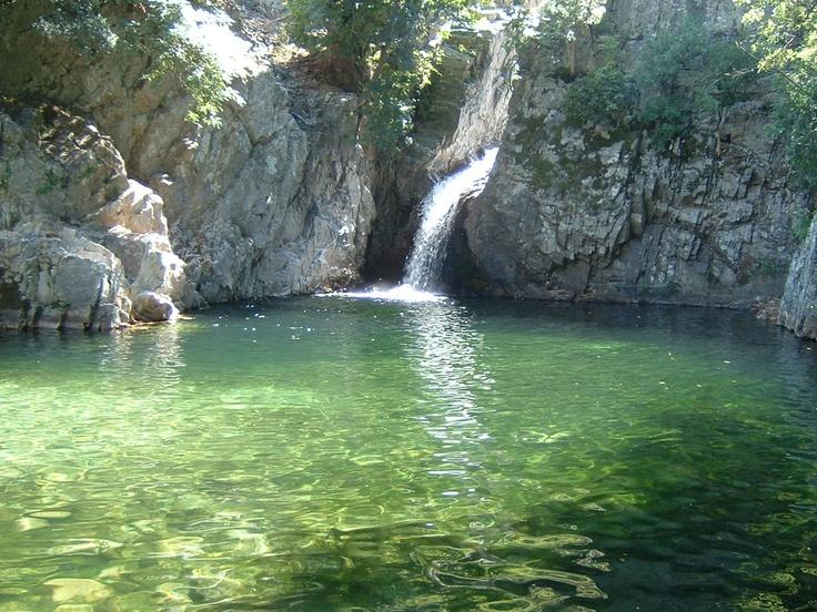 lagoon of Fonias river, Samothraki island, Greece