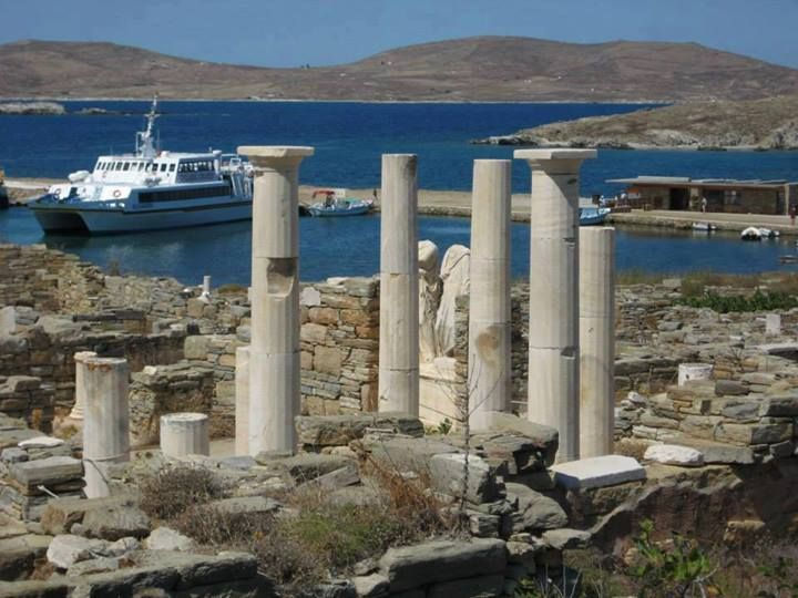 Dilos Island Greece