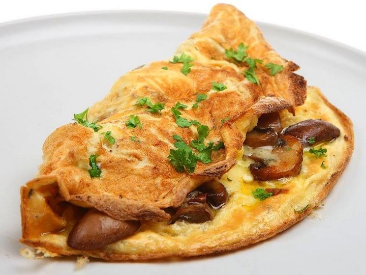 Sfougato: Greek – Cretan word for omelet