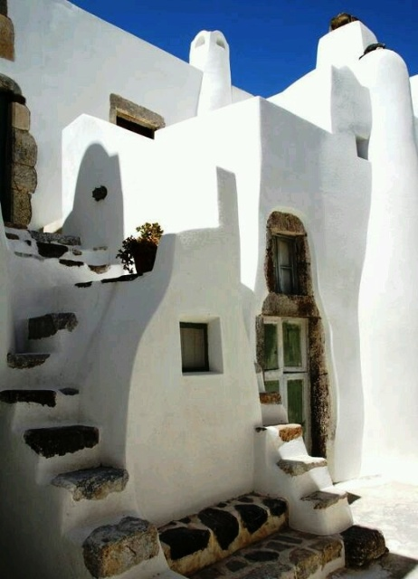 Cyclades Homes Over The Deep Blue Googreece