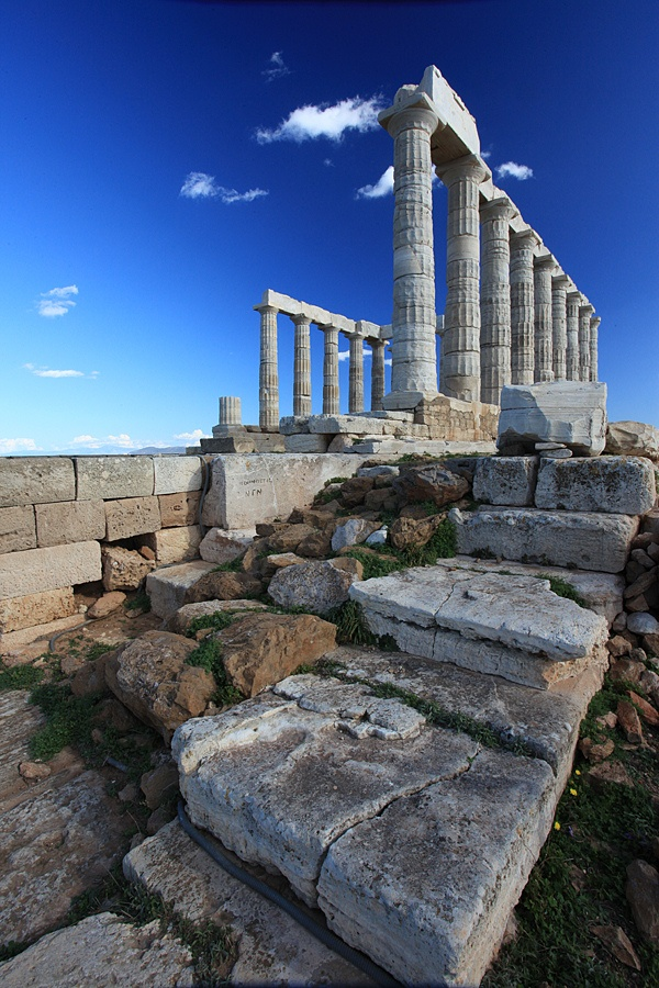 Archaeological sites Temple of Poseidon1