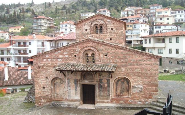 Kastoria Byzantine churche