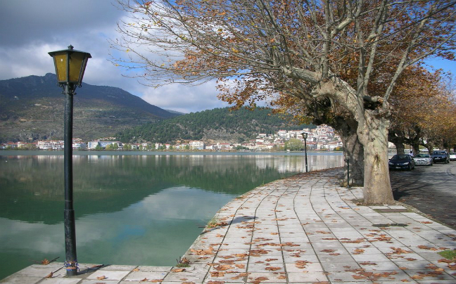Kastoria the lake