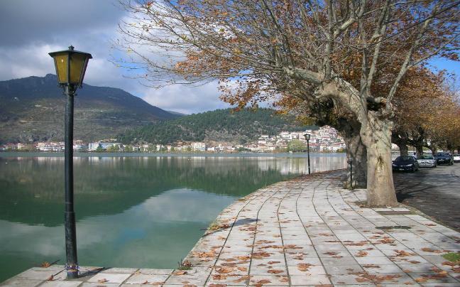 Kastoria the lake