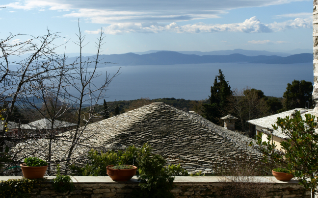 View of Pagasitikos Gulf
