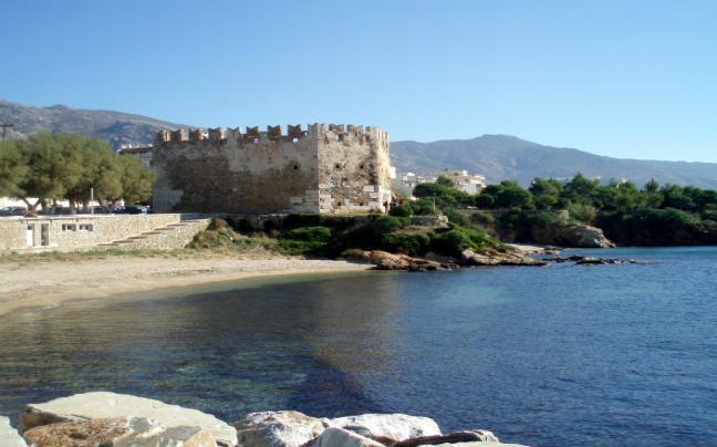 karystos Bourtzi the old Venetian fortress
