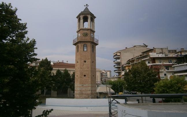 Grevena_ squares Freedom (Clock)