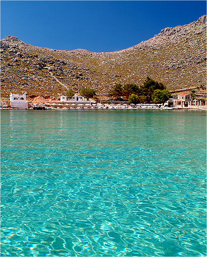 Agia Marina beach, symi1