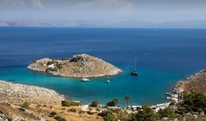 Agia Marina beach, symi3