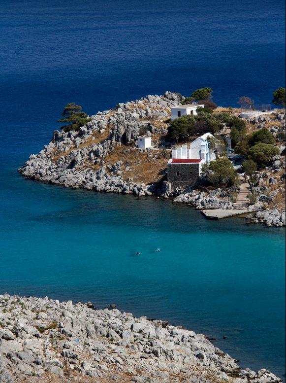 Agia Marina beach, symi4