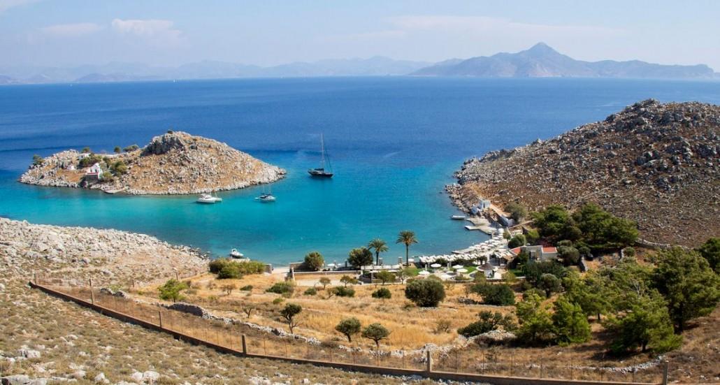 Agia Marina beach, symi5