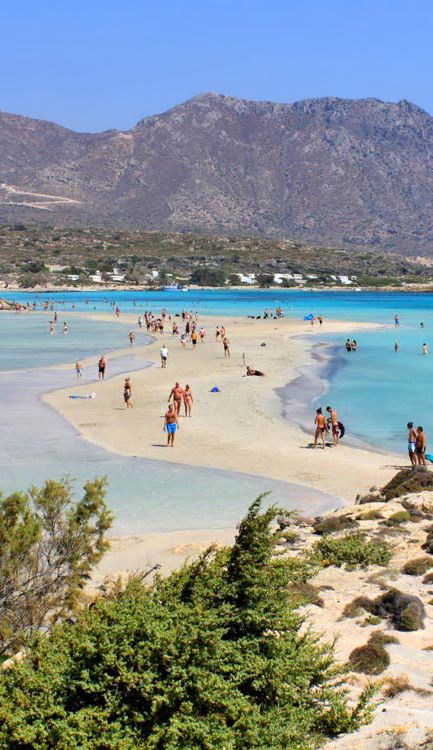 Elafonisi the most exotic beache in Crete
