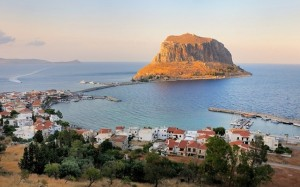 Monemvasia the rock