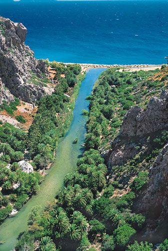 Preveli beach, Crete, Greece1