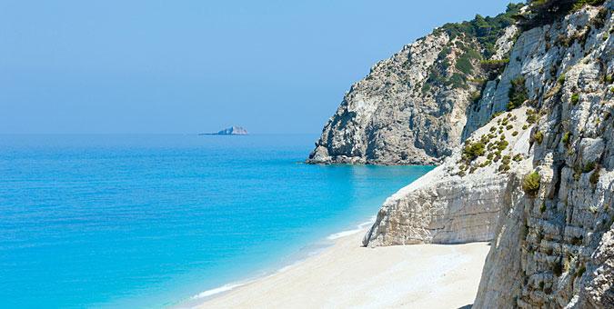 most exotic Greek beaches_Egremni, Lefkada