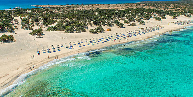 most exotic Greek beaches_Gaidouronisi, Crete
