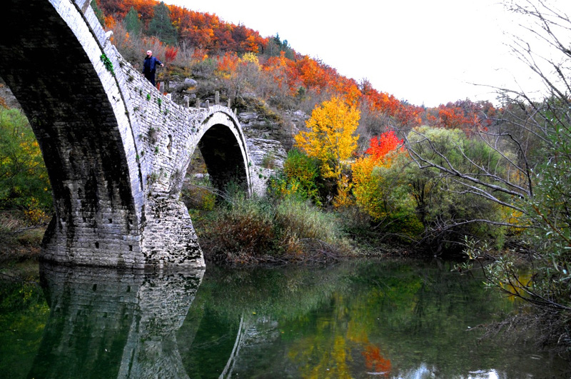 Ioannina the bridge