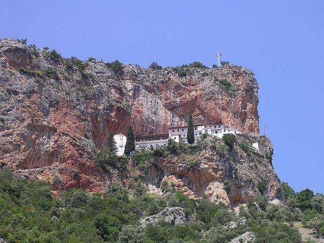 Leonidio Elonas monastery