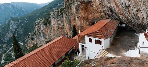 Monastery Eloni, Arkadia
