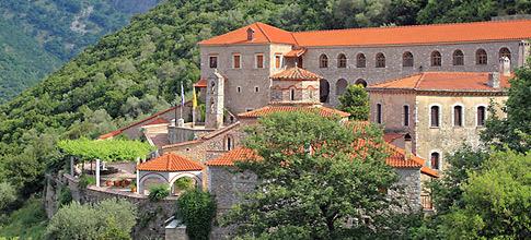Monastery Giromeriou Filiates Thesprotia