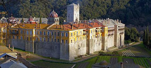 Monastery Iviron, Mount Athos
