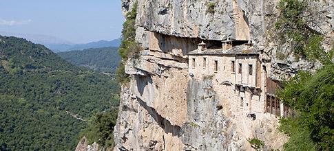 Monastery Kipinas, Tzoumerka, Epiros