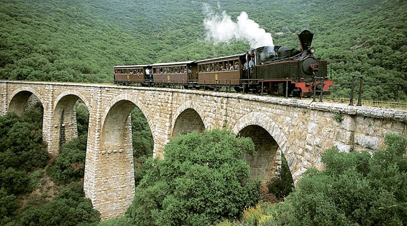 phlio montzouris old train