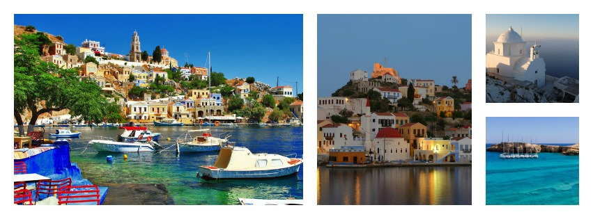 11 less inhabited Greek islands