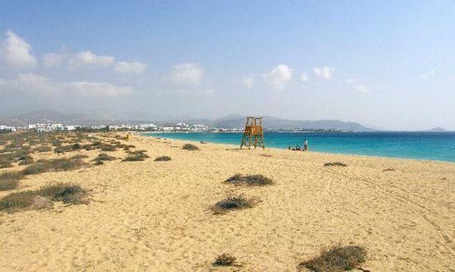 agios-prokopios naxos island, greece