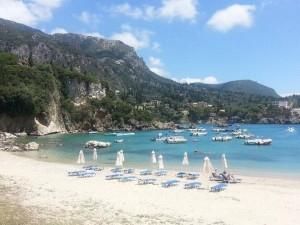 palaiokastritsa kerkyra island, greece