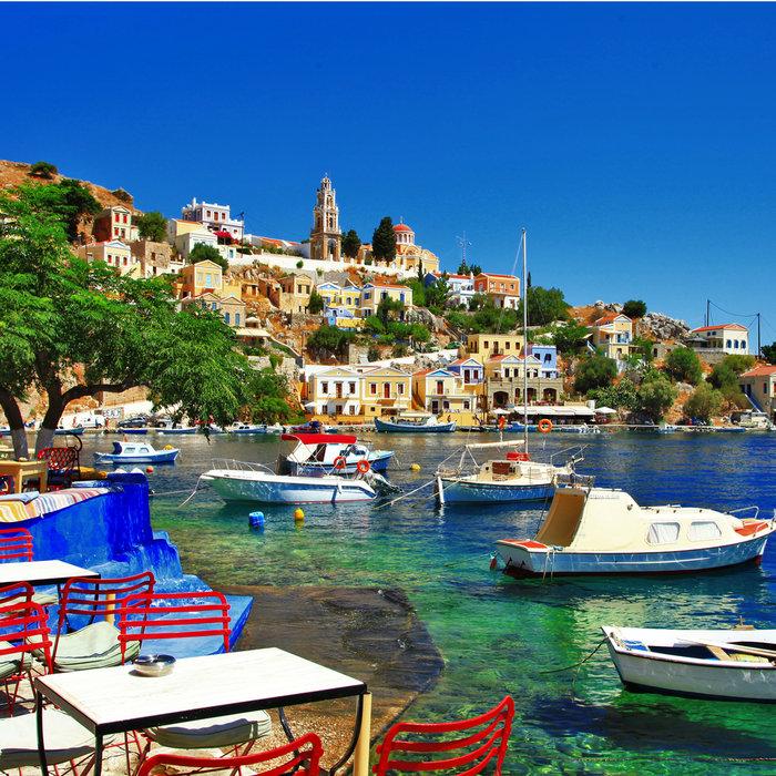xalki island, greece