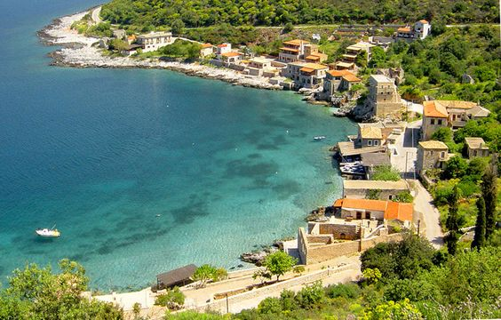 Limeni An amazing seaside village in Mani, Peloponnese